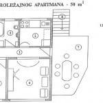 Tlocrt velikog apartmana