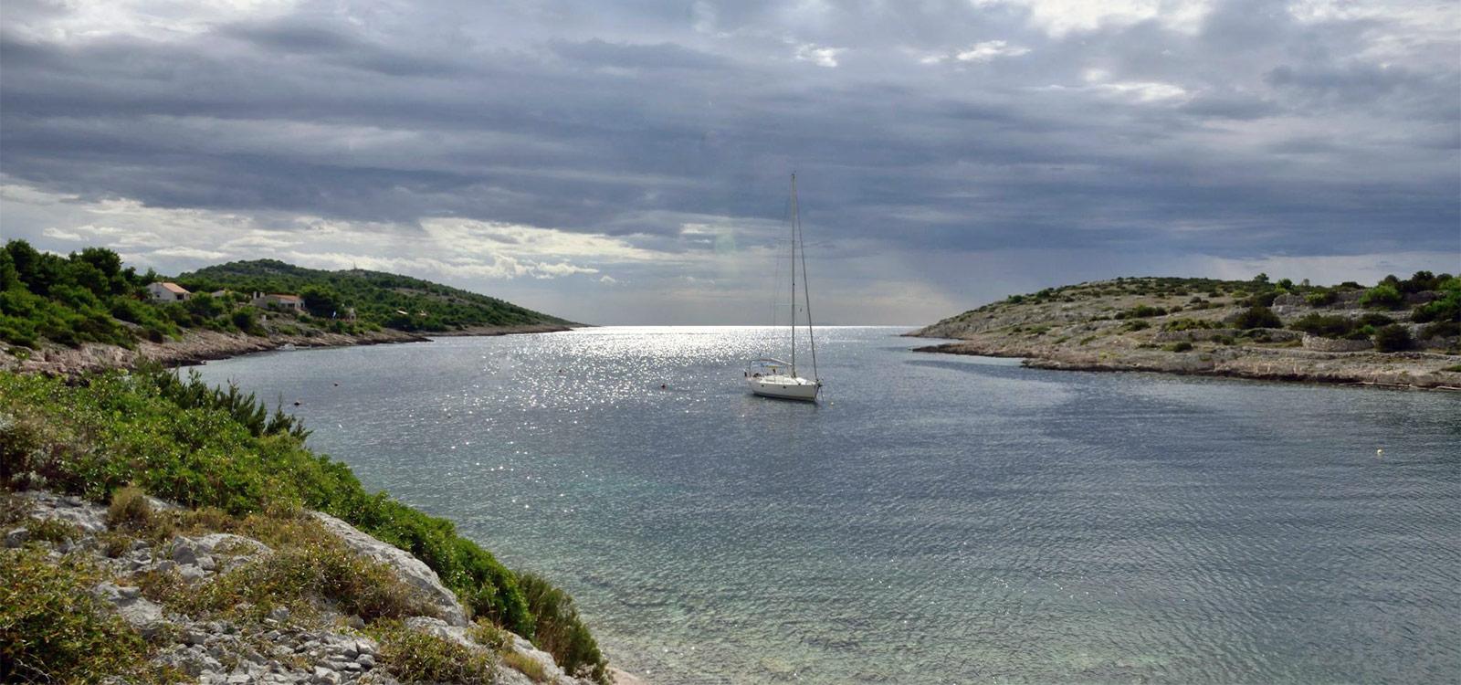 Slika mora na otoku Žirju