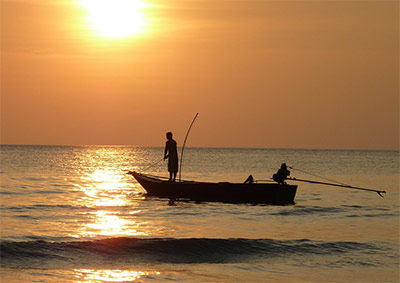 Ribolov na otoku Žirju